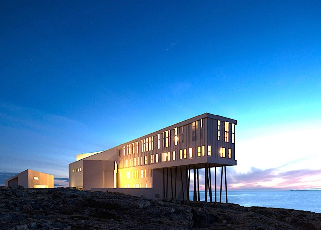 Fogo Island Inn | © Courtesy of Saunders