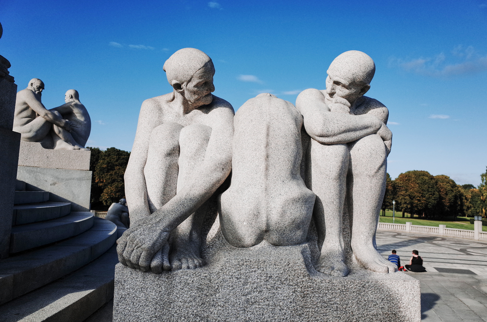 Vigeland Park is the world's largest sculpture park made by a single artist © Julie Mayfeng / Shutterstock
