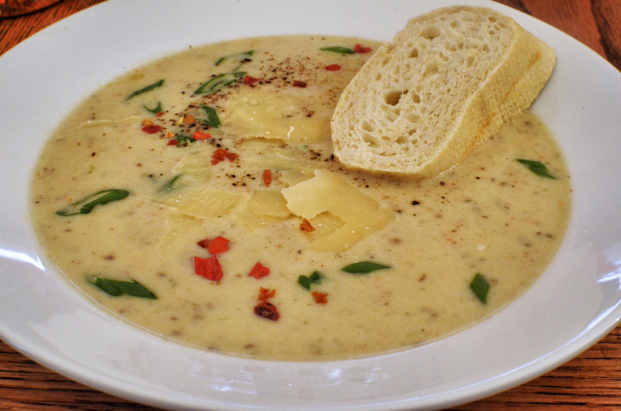 Cheese And Potato Soup Jeffreyw