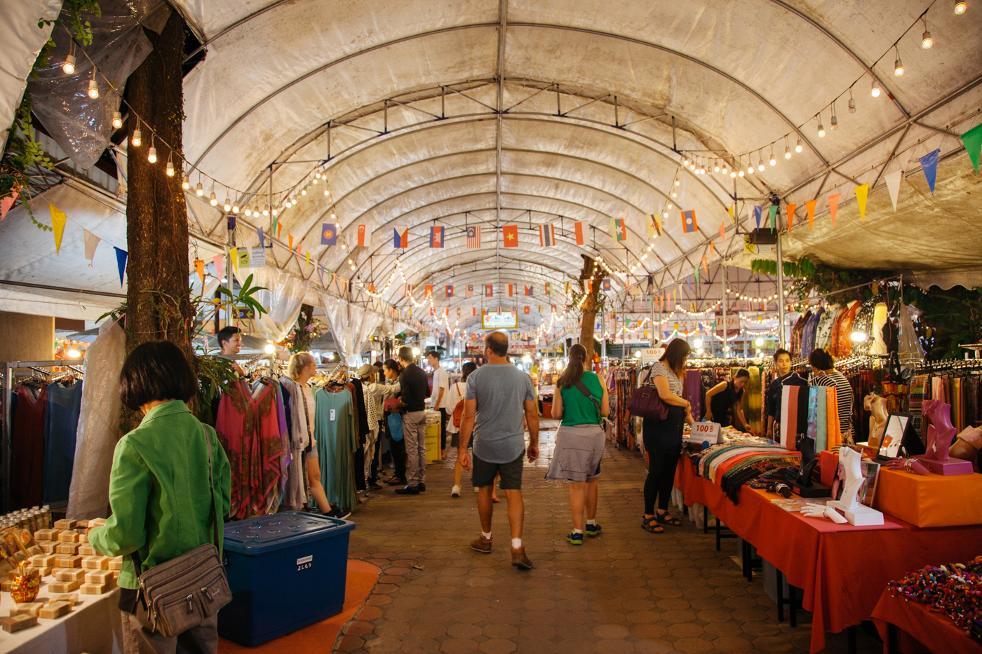 The Best Markets in Chiang Mai, Thailand Chiang Mai Night Bazaar Map on night market map, chiang mai night bazaar shopping, chiang mai thailand sweethearts, koh tao map, chiang mai sunday market,