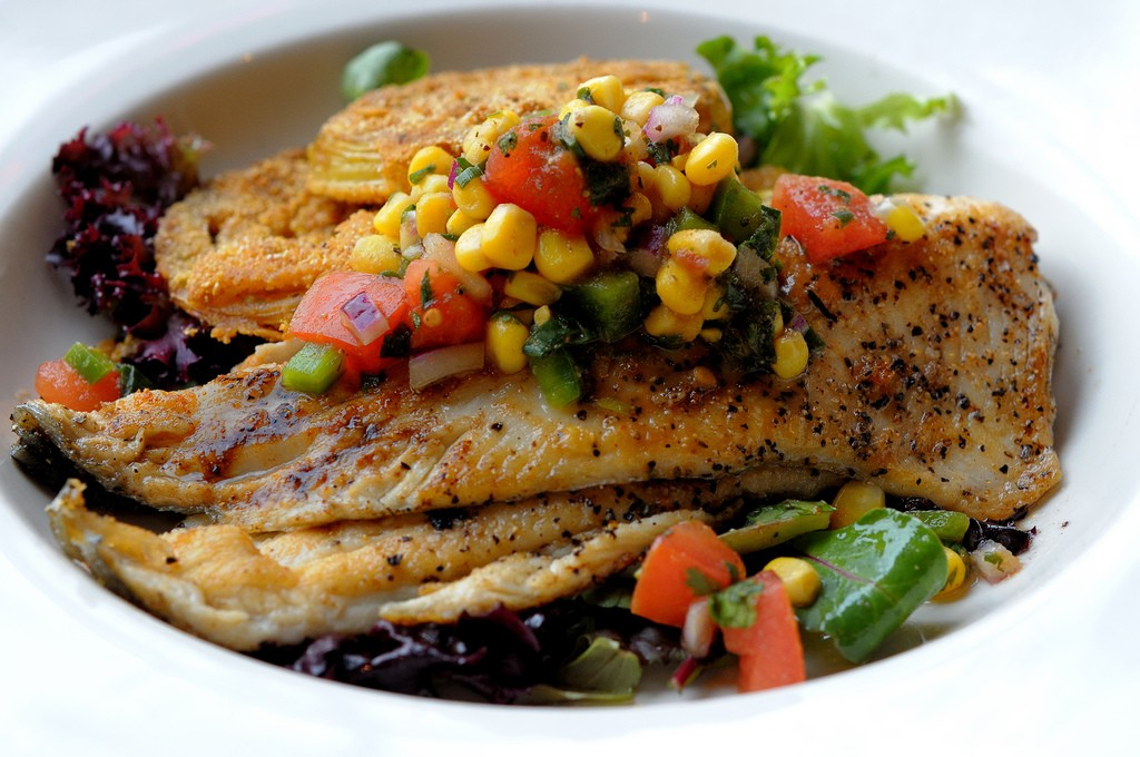 Pan Seared Rainbow Trout | ©Ralph Daily/Flickr
