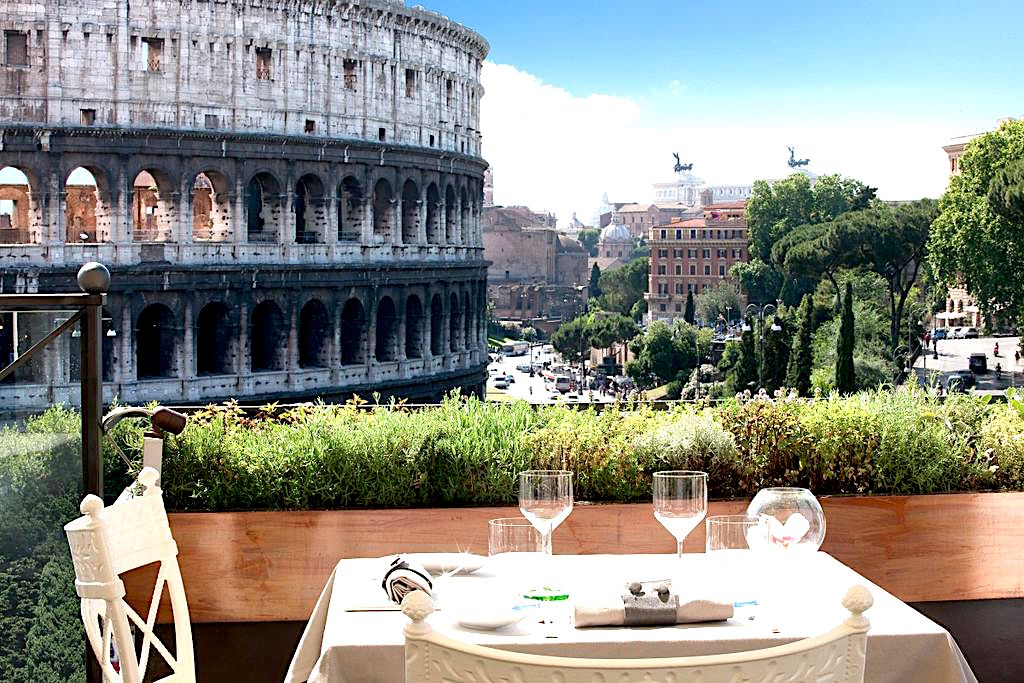 10 Panoramic Restaurants In Rome