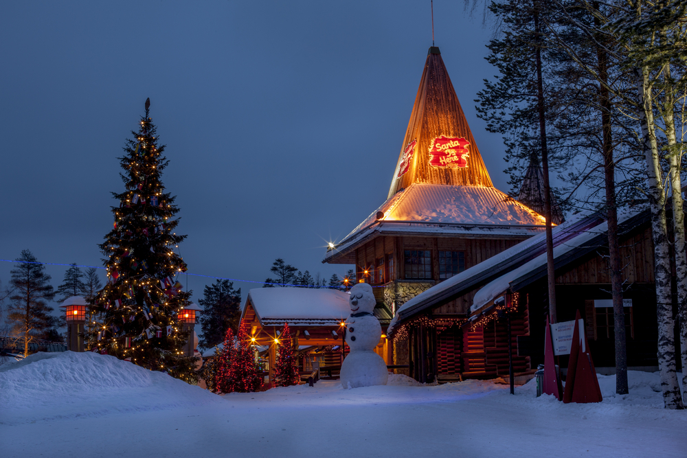 Santa Claus Holiday Village | © marcela novotna/Shutterstock