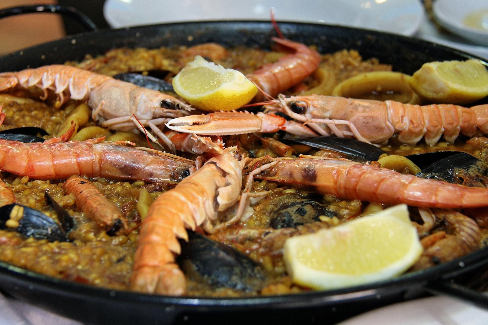 Paella de marisco© Jorge Franganillo/Flickr