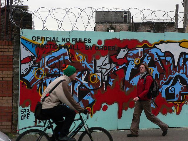 Street art on Stokes Croft | © Heather Cowper/Flickr
