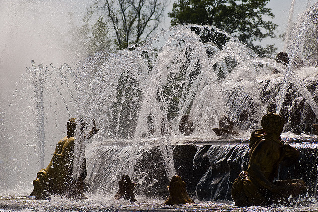 Fountains in Versailles I © Albert Cortel/Flickr