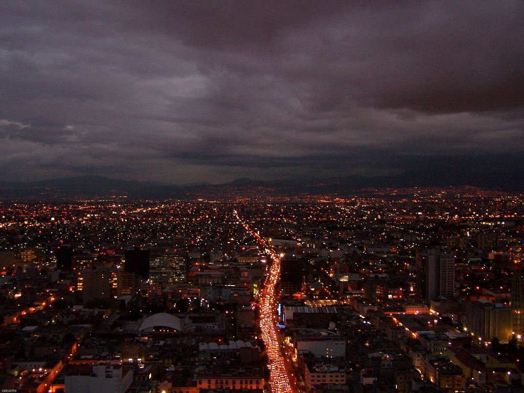 View from the Torre LatinoAmericana © cazucito/Flickr