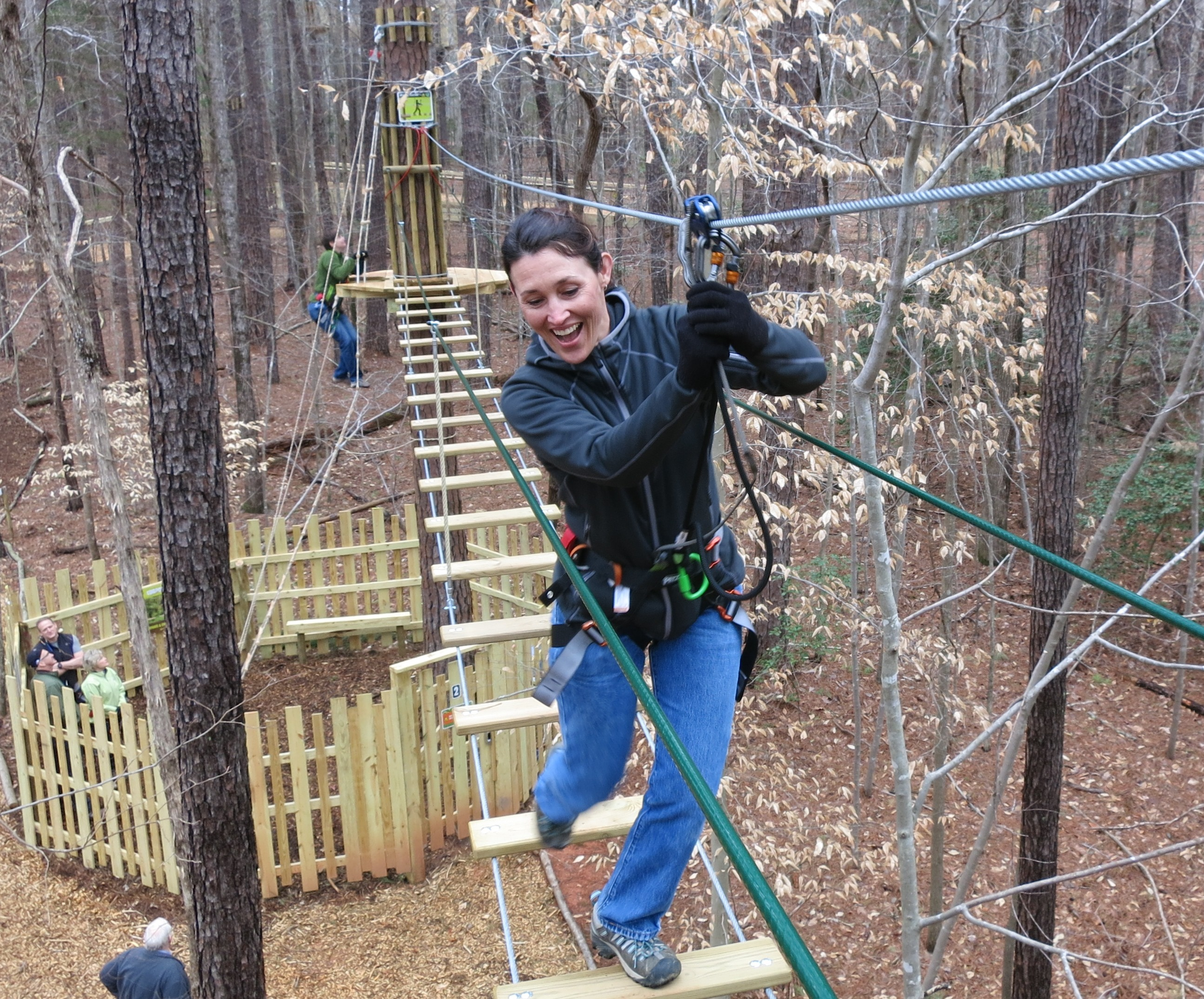 Go Ape Treetop Adventure Course | Courtesy of Blue Jay Point