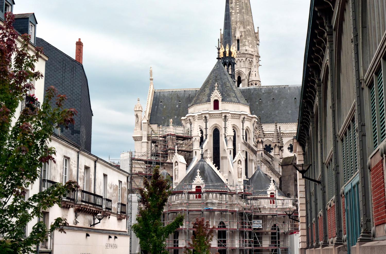 L'église Saint-Nicolas depuis la rue Cacault | ©Stephane Martin/Flickr