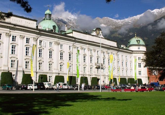 Hofburg Innsbruck|©WikiCommons