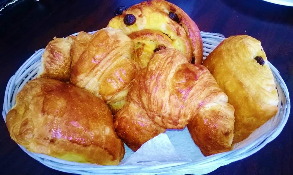Home-made croissants, pains au chocolat & pains au raisin | Courtesy of La Croissanterie