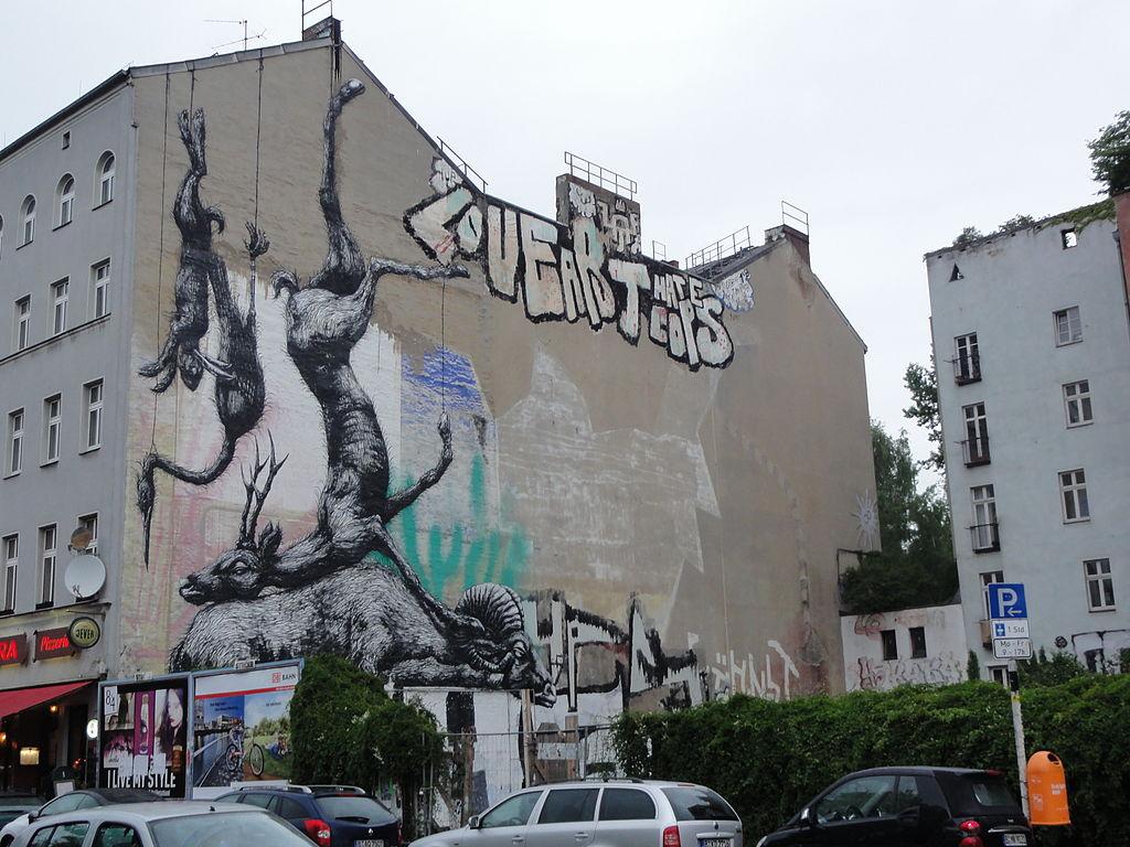 The Myth About Berlin\'s Street Art