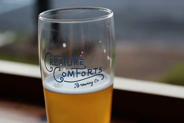 Creature Comforts Beer Glass © Jamie/Flickr