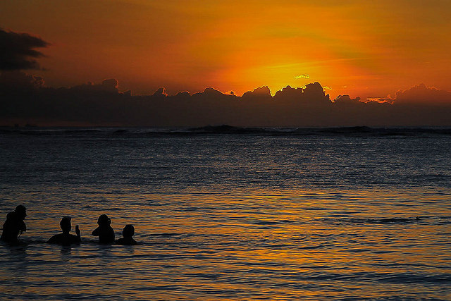 Pacific sunset in Guam I © drufisher/Flickr