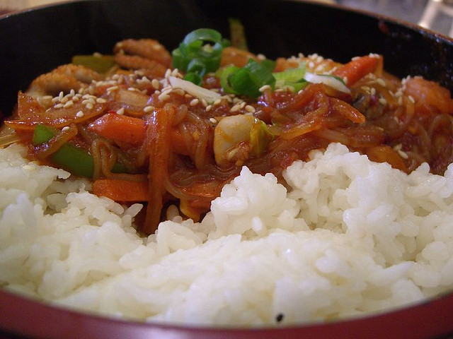 Rice with Vegetables| © Alpha Flickr
