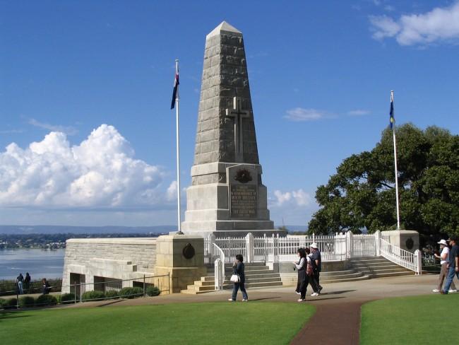 War Memorial in Kings Park © D Coetzee/Flickr
