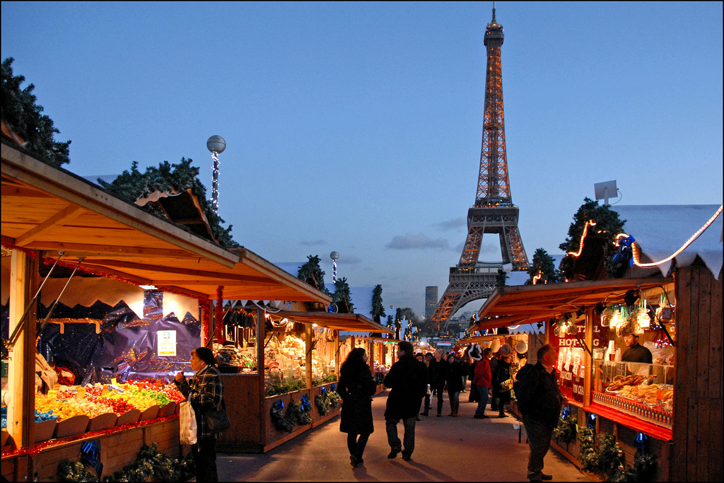 Christmas Market, Quai Branly | © Jean-Pierre Dalbéra/Flickr