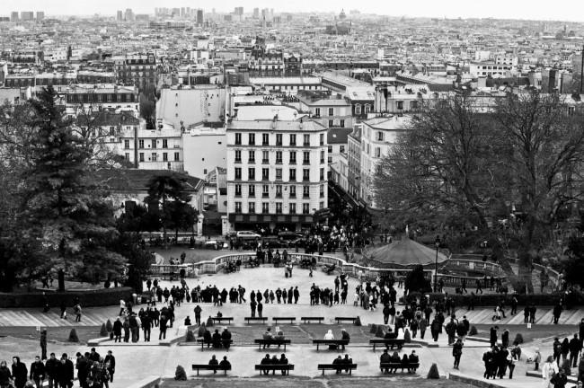 View from Sacré-Coeur, Montmartre   © Benjamin Bousquet/Flickr