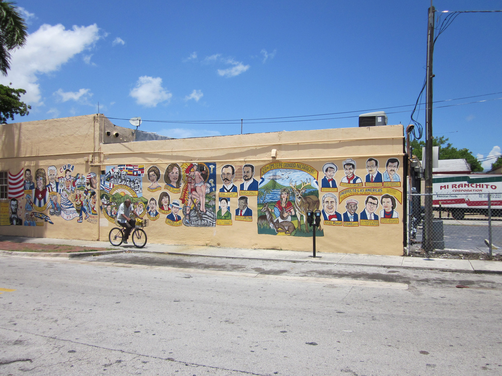 Little Havana Mural Bike © Information of New Orleans/flickr