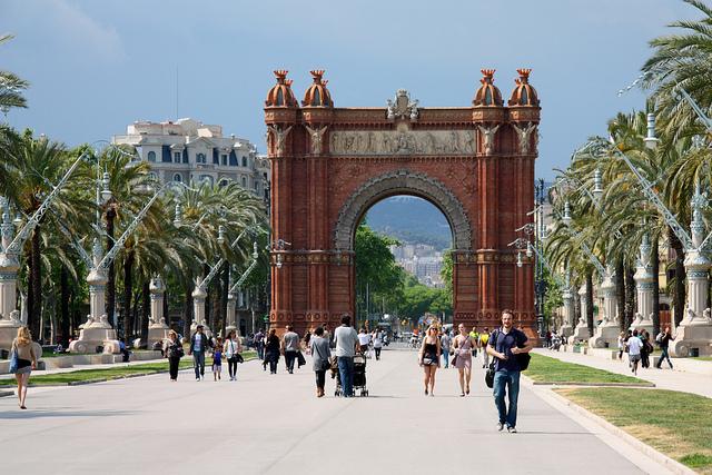 Barcelona's Triumphal Arch