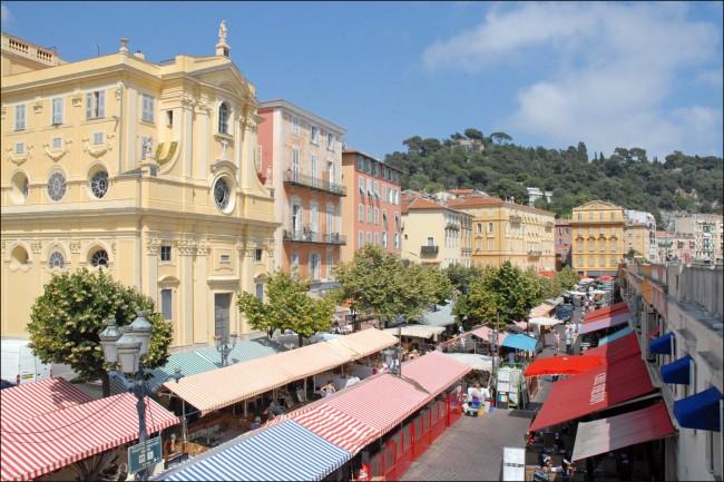 Cours Saleya  ©Jean-Pierre Dalbéra