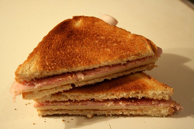 Ham and Cheese toasted sandwich| ©Tamerlan/Wikicommons