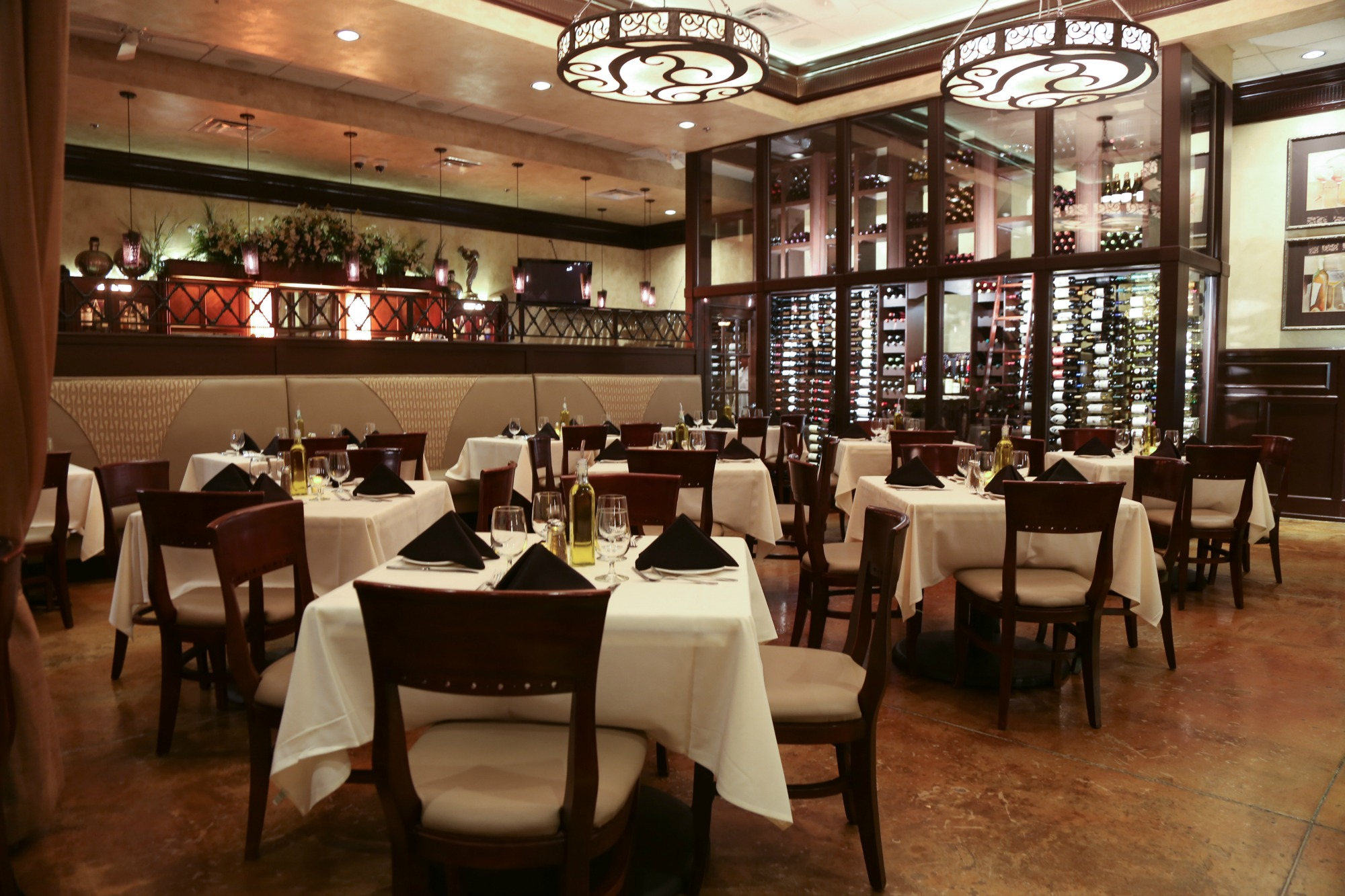 Agio S Dining Room Courtesy Italian Bistro