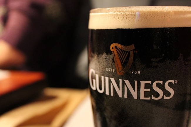 Pint of Guinness © Morabito92/WikiCommons