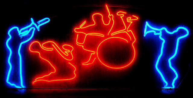 Jazz sign   © Pedro Ribeiro Simões/Flickr