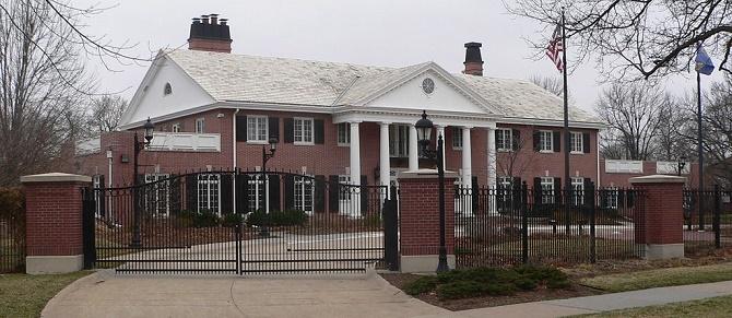 Nebraska Governor's Residence | ©Ammodramus/Wikimedia Commons
