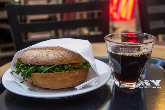 Coffee and Sandwich | ©Susanne Nilsson/Flickr