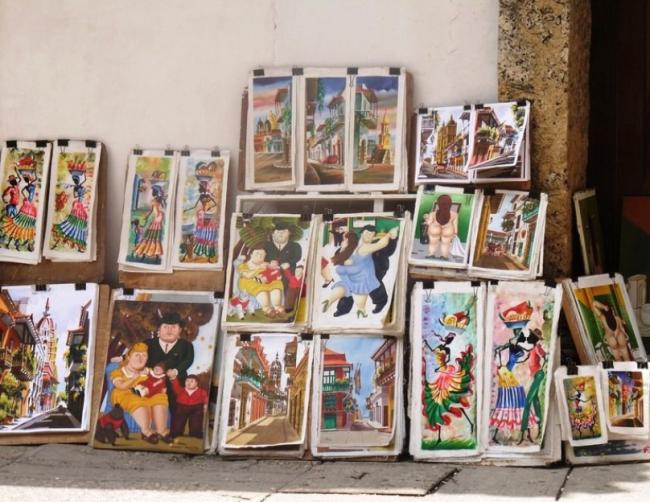 Cartagena street art   © Milan Cater