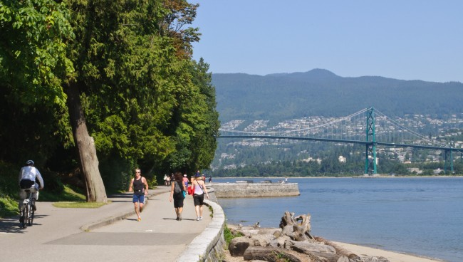 Vancouver Seawall| © russavia/Wiki Commons