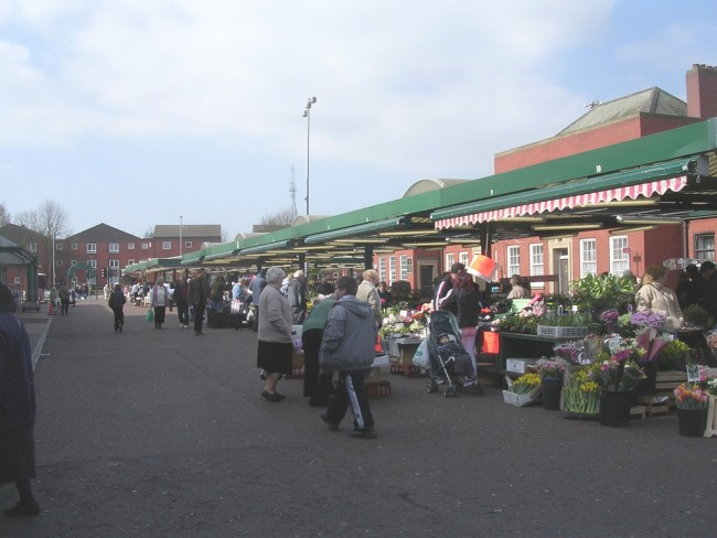 Bolton Outdoor Market | © Terry Whalebone/Flickr
