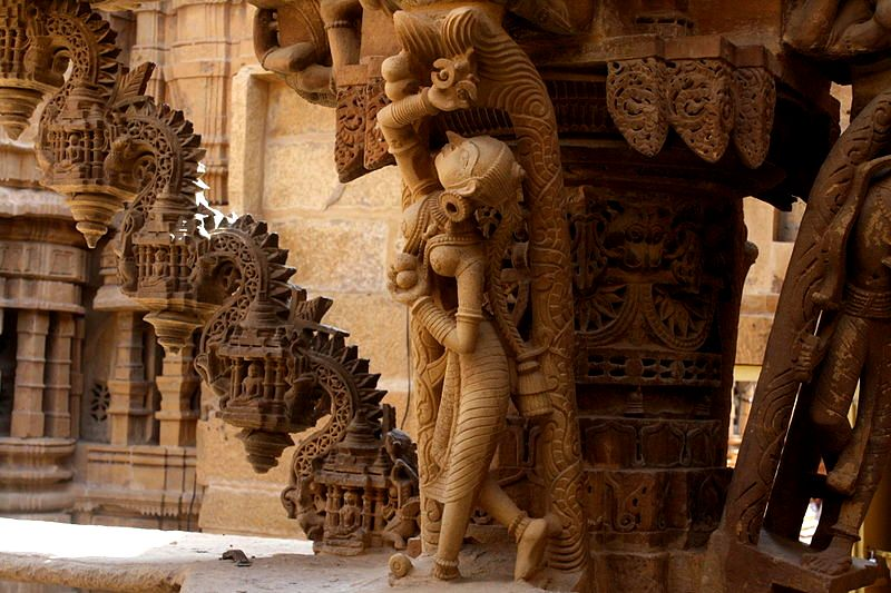 Ancient Jain Temple| © Sangeeta Dhanuka/WikiCommons