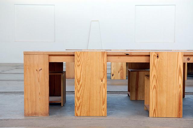 Donald Judd, Arena Furniture | © Daniel/Flickr