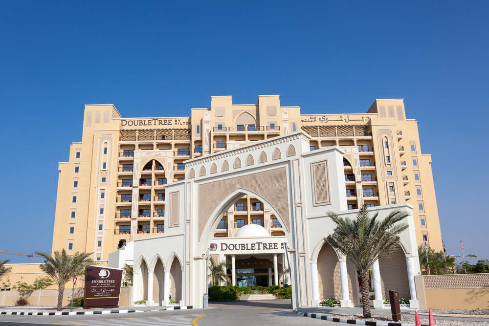 The luxury DoubleTree by Hilton Hotel Resort and Spa Marjan Island © Philip Lange / Shutterstock