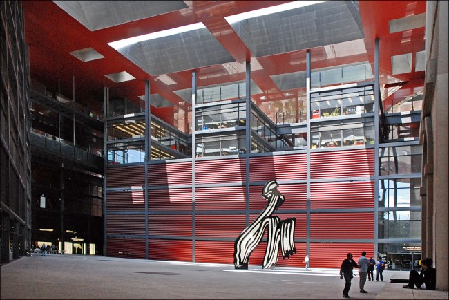 The Nouvel Building at Reina Sofia | ©Jean-Pierre Dalbéra / WikiCommons
