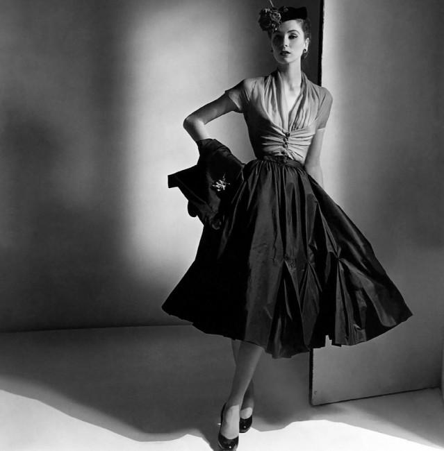 Model In Christian Dior, 1952 | © Ŧhe ₵oincidental Ðandy/Flickr