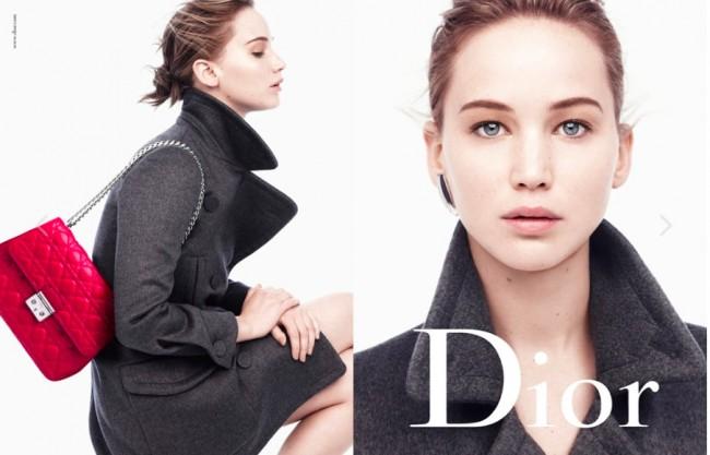 Jennifer Lawrence wearing Dior | © Tiina L/Flickr