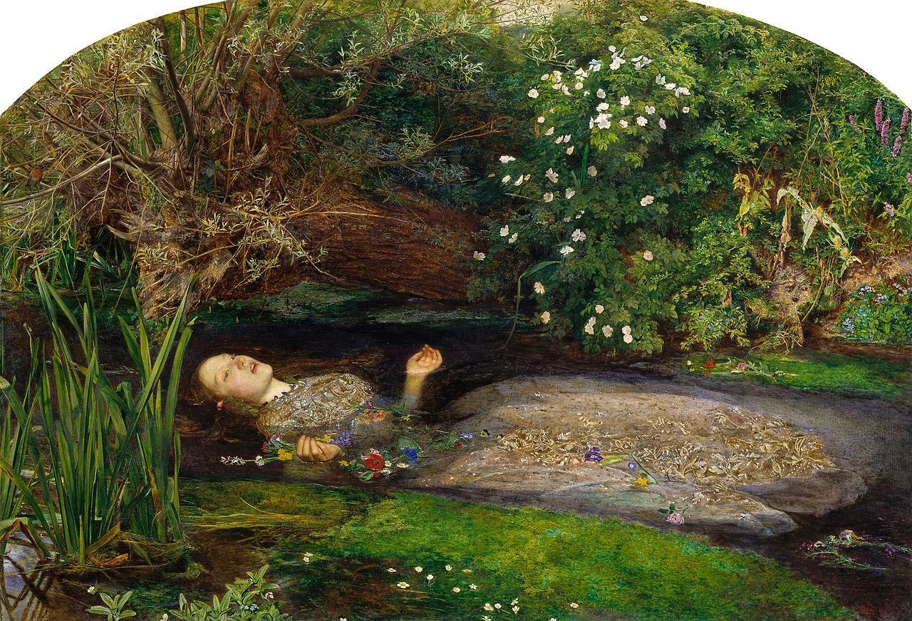 Image result for ophelia john everett millais