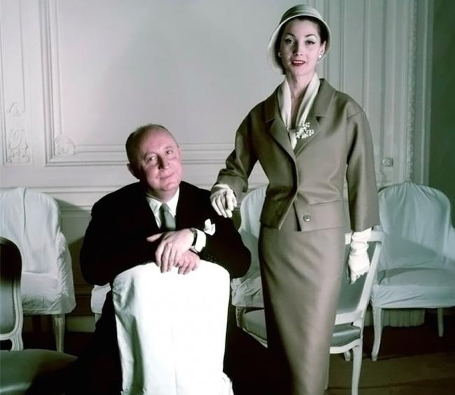 Christian Dior in 1957 | © Ŧhe ₵oincidental Ðandy/Flickr