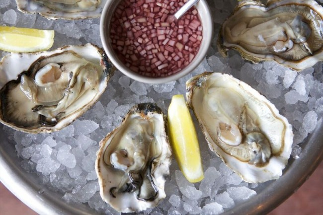 Oysters | Courtesy of The Lucky Onion