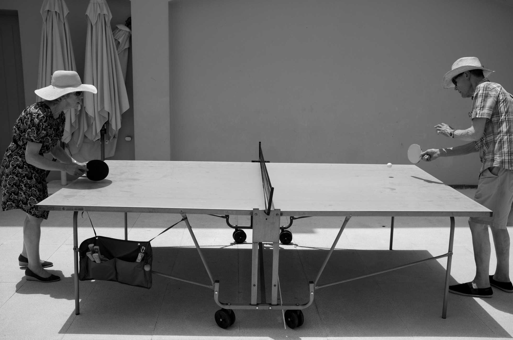 An Elderly Couple Enjoying A Match Of Ping Pong Charlietphotographic Flickr