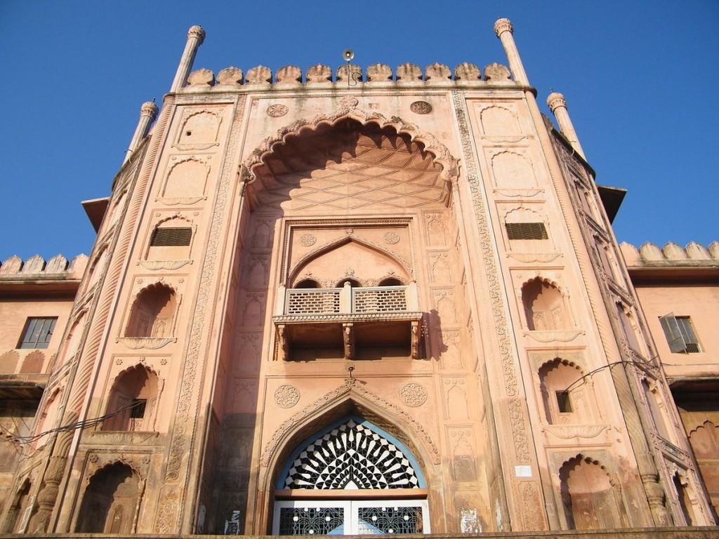Entrance Gate of Taj-ul-Masajid. Bhopal (C) Abhishek Mishra/WikiCommons