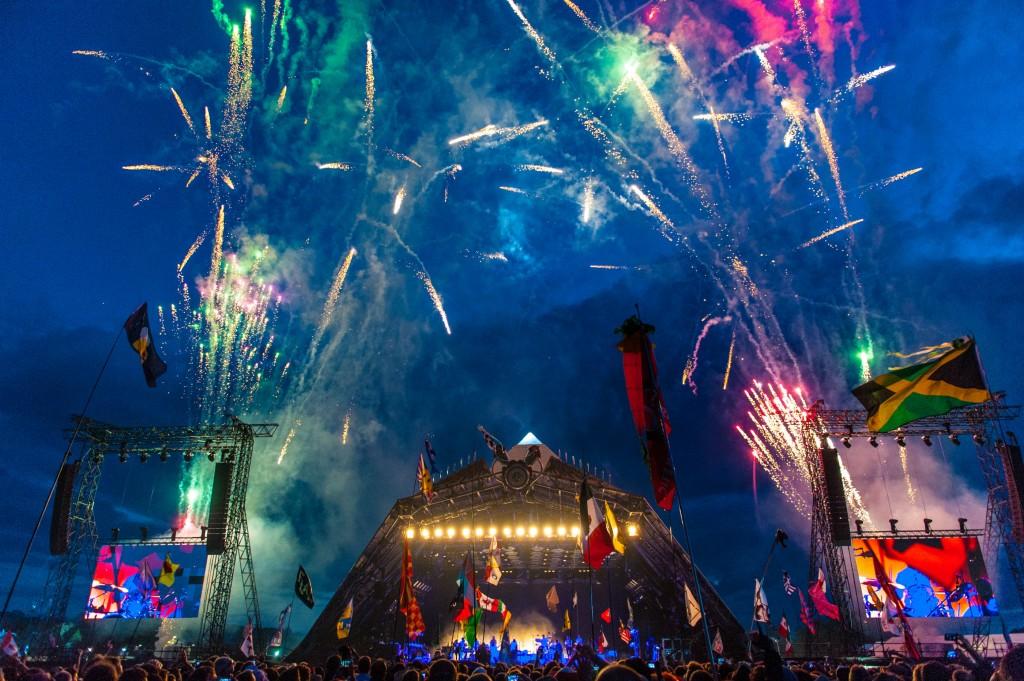 Glastonbury Festival   © Andrew Allcock