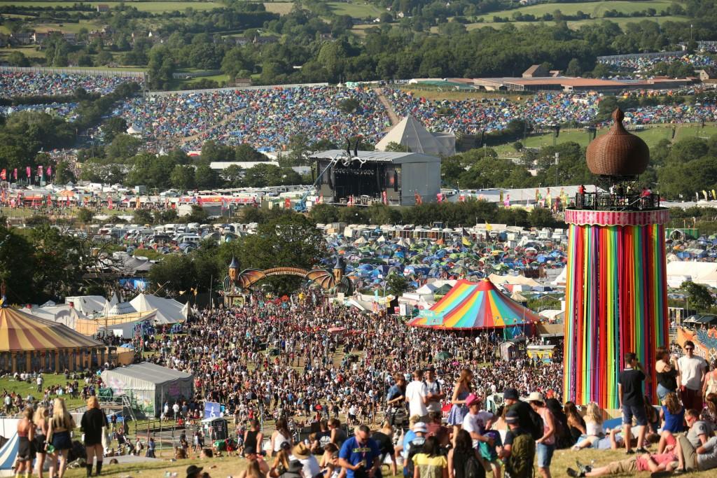Glastonbury Festival   © Jason Bryant