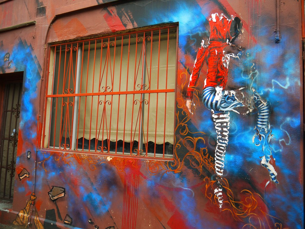 Red Hooded Ballerina By Urban Cake Lady, Duke St l © Ash Seagrave