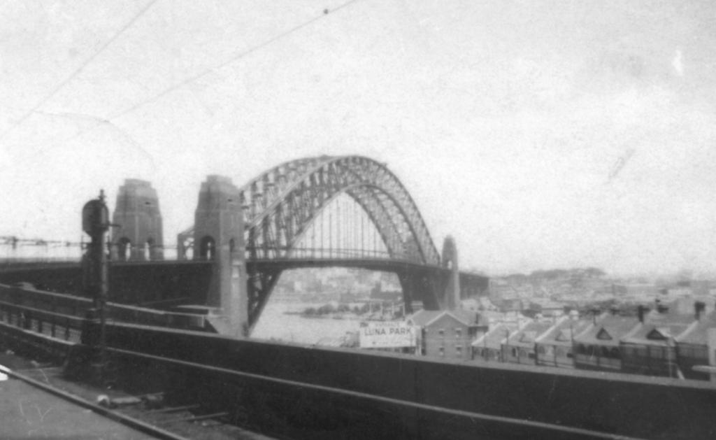 Sydney Harbour Bridge after opening in 1932. © Andrew Phelps.