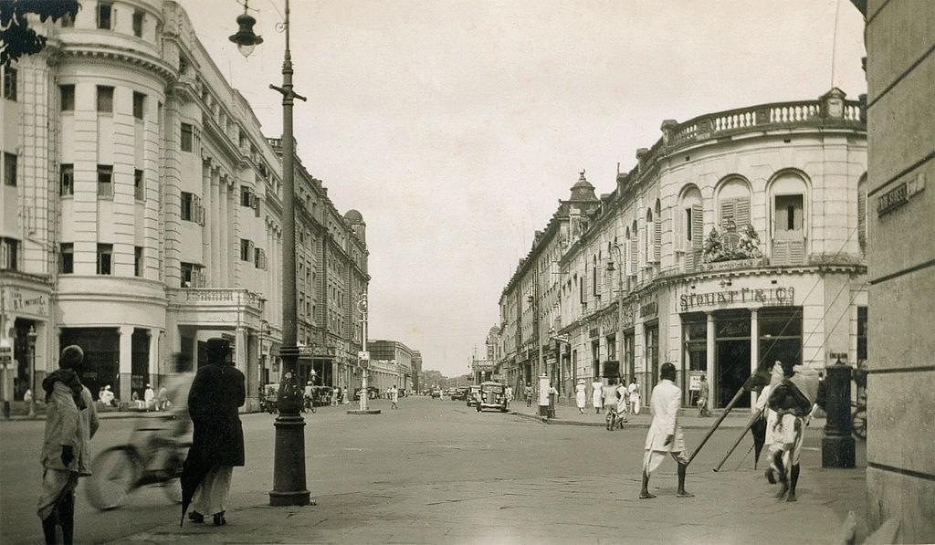 Park Street, Calcutta 1930s/©Unknown/WikiCommons